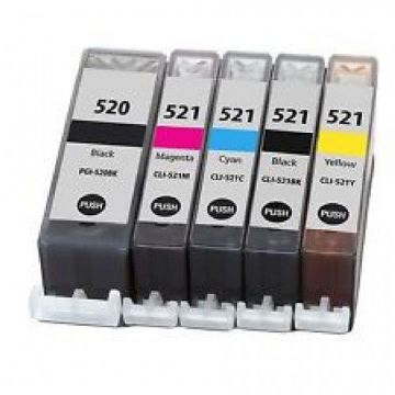 Canon Refurbished PGI-520 / CLI-521 Ink Cartridge Multipack x 5 Inks